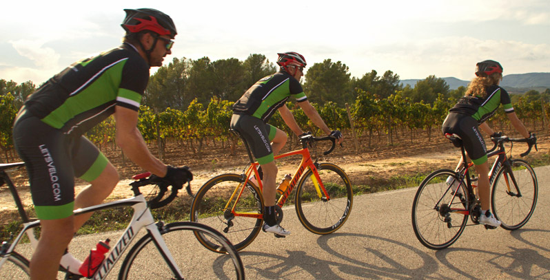Cycling tour of spain