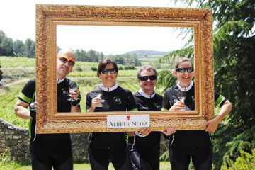 Cycle touring in Europe, road bicycle tours in the Penedès, Barcelona