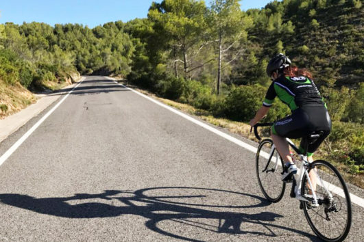 Barcelona road bike Self-guided tour