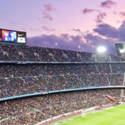 Road Bike in Barcelona Countryside, and match a match in camp nou, fc barcelona stadium.